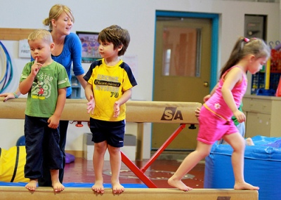 No balance beam for my kid!Photo via Flickr Commons